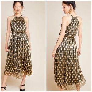 Sunday in Brooklyn Confetti Halter Midi Dress